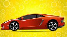 Cartoon Cars Sports Car Garage Car Wash Videos Street Vehicles