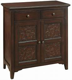 2 drawer accent cabinet from pulaski p017001 coleman