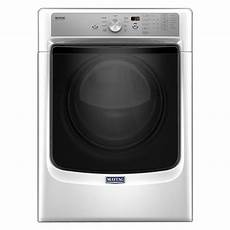 Lighting A Gas Dryer Maytag 7 4 Cu Ft 120 Volt White Gas Vented Dryer With