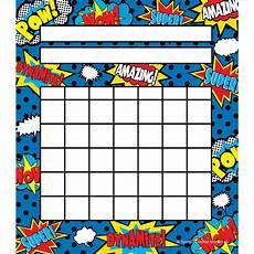 Superhero Movie Chart Superhero Incentive Charts Tcr5646 Teacher Created