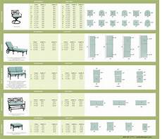 Cushion Size Chart Ballard Outdoor Cushion Size Chart Upholstery Ideas
