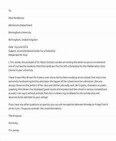 Letter Of Recommendation For Principals Sample Letter Of Recommendation Format 8 Examples In