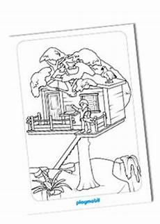 ausmalbilder playmobil baumhaus ausmalen macht spa 223 alle playmobil 174 malvorlagen