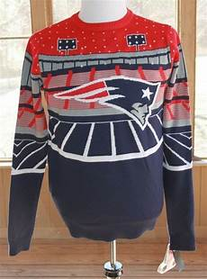 Nfl Patriots Light Up Sweater Nfl Team Apparel Medium New England Patriots Light Up