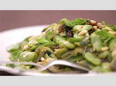 Artichoke and broad bean salad   Salad recipes   SBS Food