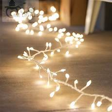 Dangling Fairy Lights Led Cluster String Lights 10 Meters 300 Led Copper Fairy