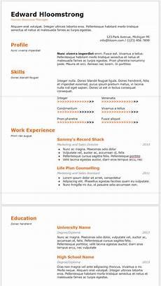 Google Cv Templates 10 Google Docs Resume Template In 2020 Download Best Cv