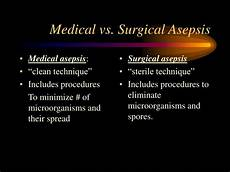 Medical Asepsis Ppt Surgical Asepsis Amp Wound Care Powerpoint