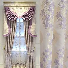 Bedroom Curtains Modern Warm Purple Bedroom Curtain Finished European Style