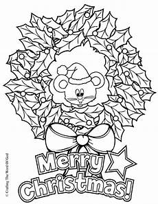wreath coloring page 171 crafting the word of god
