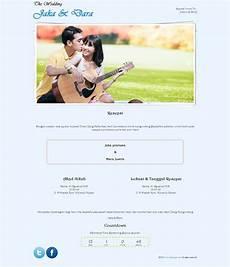 desain tema undangan pernikahan online gratis dari