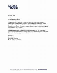 Recommendation Letter Sample Tips For Writing A Letter Of Recommendation