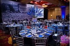 royal blue wedding centerpieces blue tie gala in