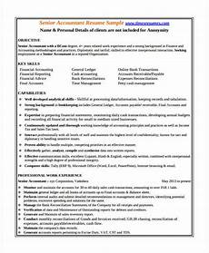 Resume Format For Experienced Accountant Pdf 23 Accountant Resume Templates In Pdf Free Amp Premium