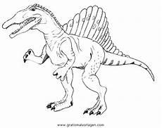 kleurplaat indoraptor trex ausmalbild malvorlagentv