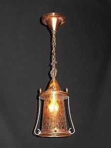 1925 Lighting Fixtures Antique Copper Lighting Fixture 3 Arts Amp Crafts