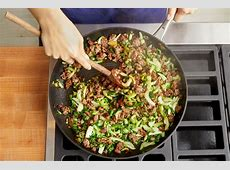 Recipe: Korean Style Beef & Gochujang Mayo with Jasmine
