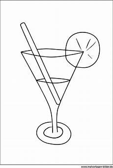 Malvorlagen Zum Ausdrucken Cocktail Cocktail Glas Malvorlage Zum Ausdrucken