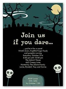 Sample Halloween Invitations Graveyard Fun Halloween Invitation Shutterfly