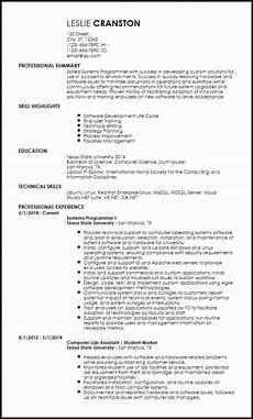 Creative Programmer Resume Entry Level Web Developer Resume Sample Best Resume Examples