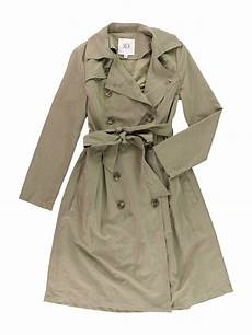 trench coats for tire womens lexia belted trench coat walmart