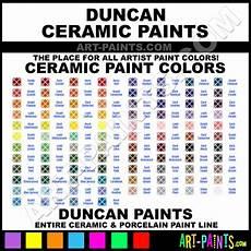Ceramic Paint Color Chart Duncan Ceramic Paint Brands Duncan Paint Brands Ceramic