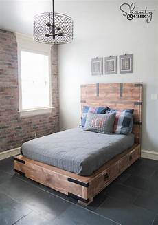 diy or size storage bed shanty 2 chic