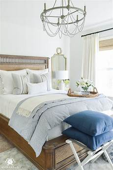 And White Bedroom Ideas One Room Challenge Classic Blue And White Guest Bedroom
