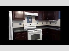 Kitchen Remodeling Project: Rustoleum Transformation Kit for Cabinets in Cabernet was used