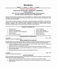 Keywords For Executive Assistant Resume Sample Resume 8 Examples In Pdf Word