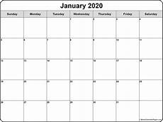 Publisher Calendar Templates 2020 January 2020 Calendar Free Printable Monthly Calendars