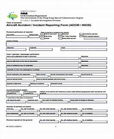 Aircraft Incident Report Free 63 Incident Report Examples In Ms Words Pdf Pages