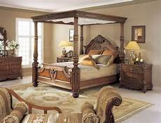 mahogany carved king size poster bed w canopy ebay