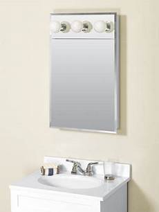 zenith frameless lighted medicine cabinet at menards 174