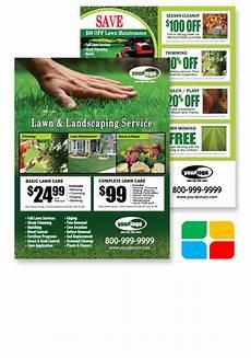 Lawn Maintenance Flyers Lawn Maintenance Flyer Postcards Door Hangers Eddm And