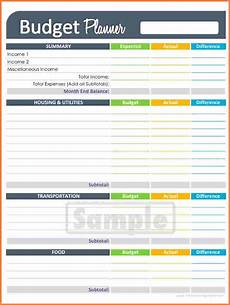 Budget Worksheet Excel 9 Printable Budget Spreadsheet Excel Spreadsheets Group