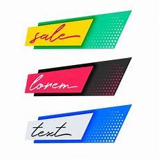 Banner Design Trendy Fashion Sale Banners Design Download Free Vector