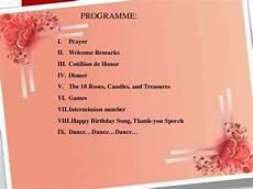 7 Birthday Program Image Result For Surprise 60th Birthday Program Debut