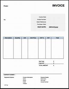 Invoice Template Uk Doc Free Invoice Template Uk Use Online Or Download Excel Amp Word