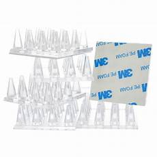 Spiked Carpet Protectors Set Of 16 Floor by Hillman 4 Count 2 In X 2 In Clear Spiked Caster Cup At