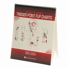 Travell Trigger Point Chart Buy Travell Trigger Point Flip Chart