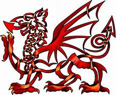 Welsh Celtic Designs Celtic Knot Welsh Dragon Art