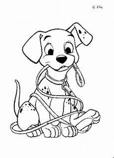 Ausmalbilder Hunde Dalmatiner Dalmatiner Mit Leine Ausmalbild Malvorlage Sonstiges