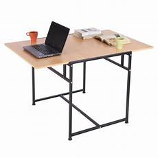Homcom Writing Desk Computer Table Home Office Pc Laptop by Homcom 47 Quot Folding Computer Table Home Office Desk Slide