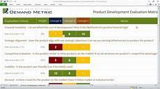 Design Criteria Product Design Product Development Evaluation Matrix Youtube