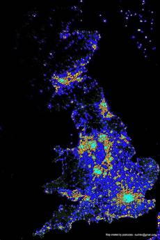 Light Pollution Map Iceland Picture 25 Of Light Pollution Map Uk