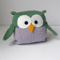 tooley owl knitting pattern easy to knit for