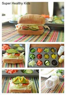 Subway Ingredients Chart Our Way Mini Sub Sandwiches Recipe Food Food For A