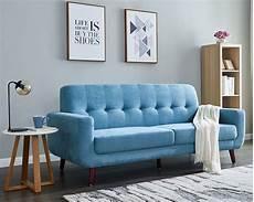 blue fabric sofa set mid century modern sectional sofa
