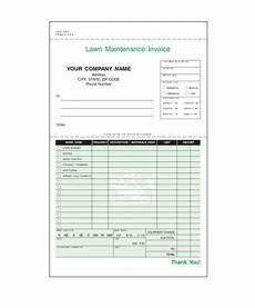 Lawn Care Invoice Lawn Care Invoice Template Invoice Example
